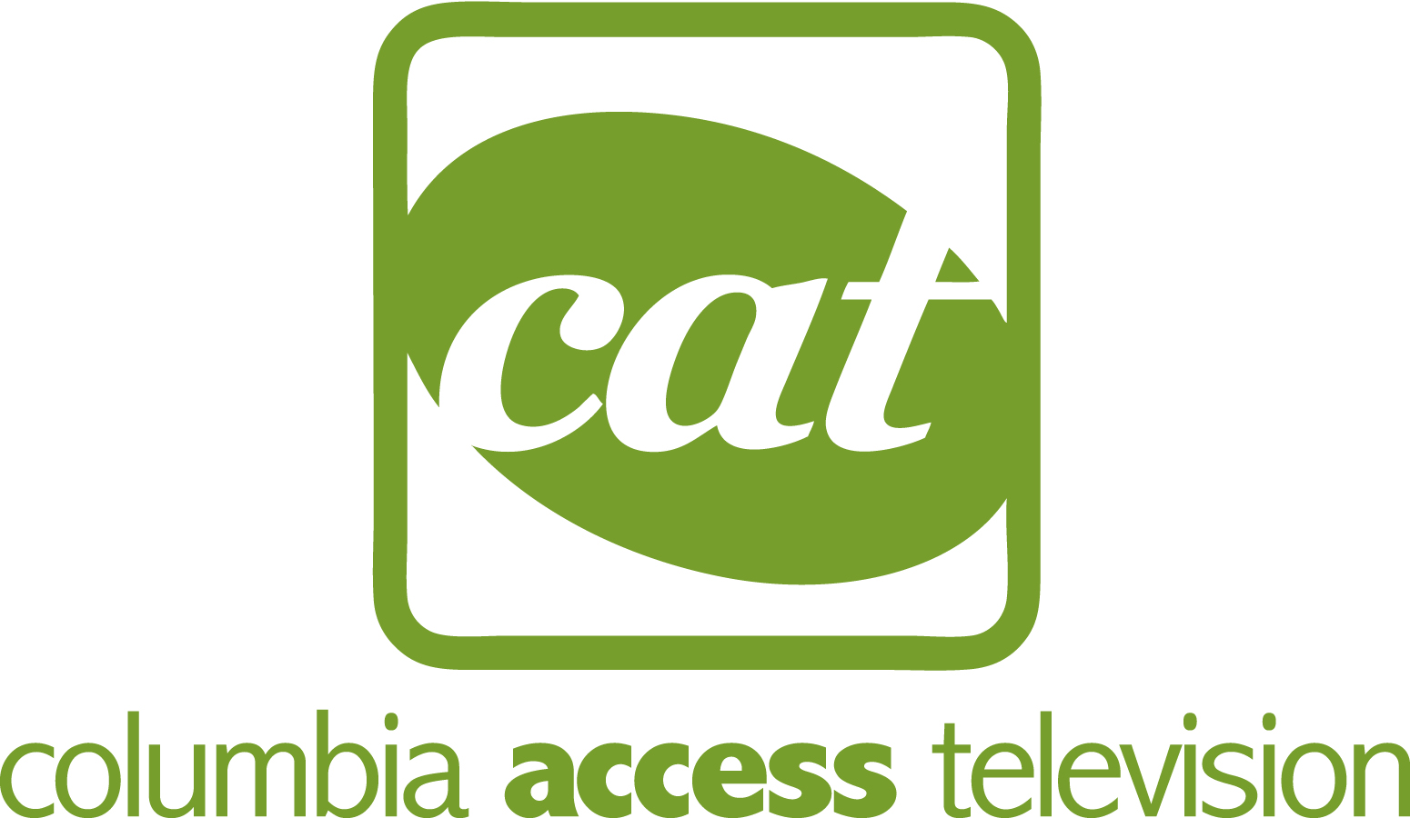 CAT Full Name Logo Green