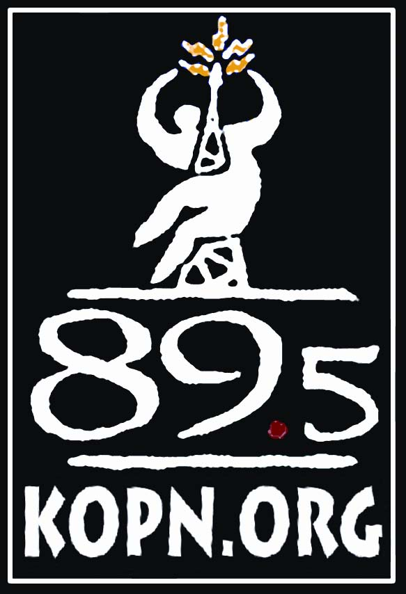 KOPN Logo with dot org