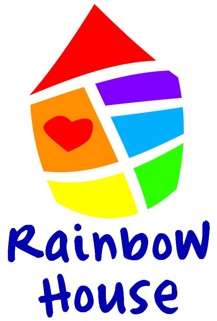 RainbowHouseLogosFinal, Solid Black
